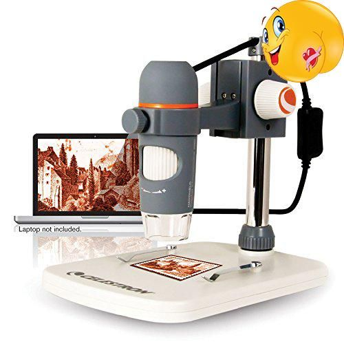 #trendy Our popular #Handheld Digital Microscope line rises to a new level with the Handheld Digital Microscope Pro including adjustable-height stand. This easy-...