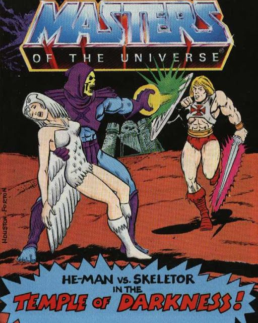 """Masters of the Universe in """"He-Man vs. Skeletor in the Temple of Darkness!""""   He-Man"""