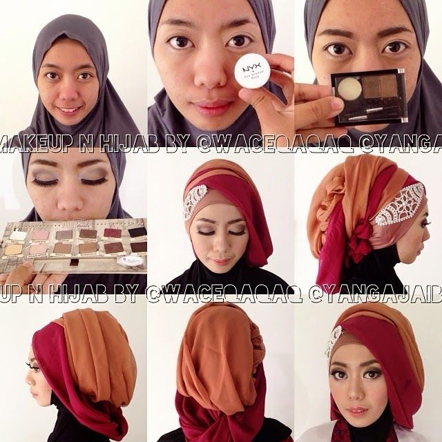 Ini Vindy Yang Ajaib: Gaya Hijab Terbaru 2014 ala Vindy : Terasiring Layer Style