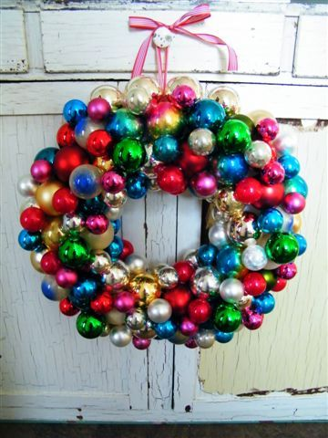 I've started collecting ornaments at garage sales, Goodwill, thrift shops.