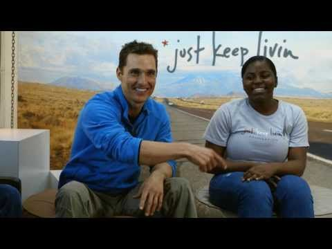 Sears is proud to be the exclusive carrier of Matthew McConaughey's JKL clothing line in Canada. A portion of every sale of JKL goes to Boys and Girls Clubs of Canada, a Sears community partner for almost half a century.
