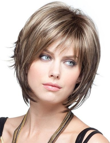 Fashion Short Curly Women Synthetic Hair Wigs