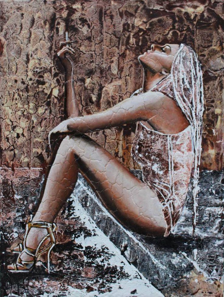 "Saatchi Art Artist Donatella Marraoni; Painting, ""Your choice"" #art"