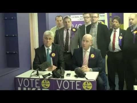 Breaking UKIP News : UK's Nigel Farage UKIP Northern England Has Change
