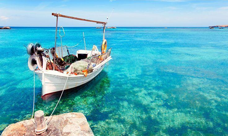 Corfu island boat