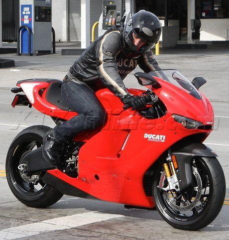 Tom Cruise is a huge Motorcycle guy