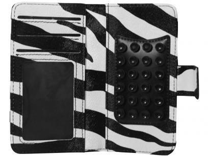 Capa Protetora Zebra carteira para Smartphone - Geonav com as melhores condições você encontra no Magazine Edmilson07. Confira!