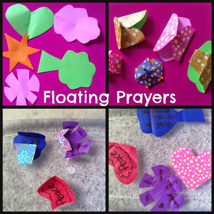 floating prayers Flame: Creative Children's Ministry