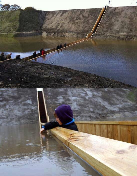 Moses bridge in Netherlands #mosesbridge #netherlands