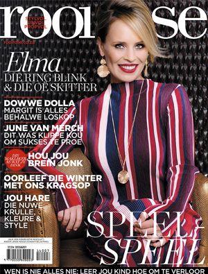 rooi rose Julie 2016 met Elma Postma