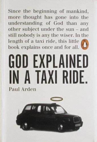 17 best film book album images on pinterest reading books god explained in a taxi ride by paul arden http fandeluxe Image collections