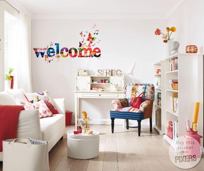 Naklejka Welcome! naklejka • Inspiracje • PIXERS.pl