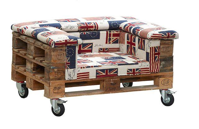 M s de 25 ideas fant sticas sobre sofas hechos con palets for Muebles hechos con paletas de madera