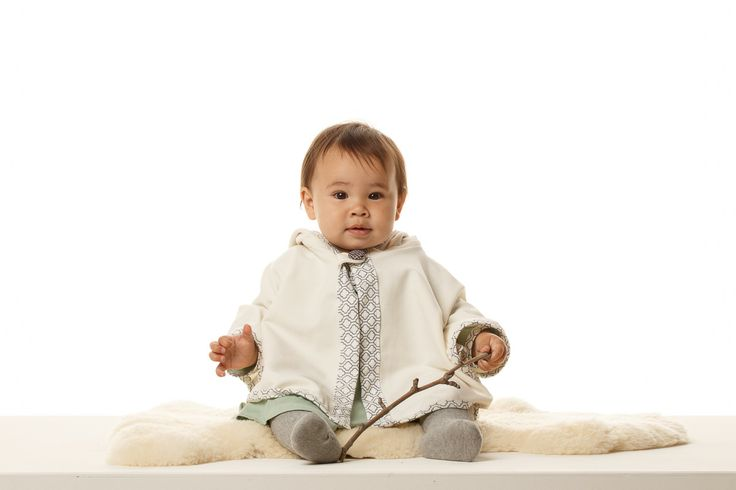 Organic Cotton Fleece Swing Cape