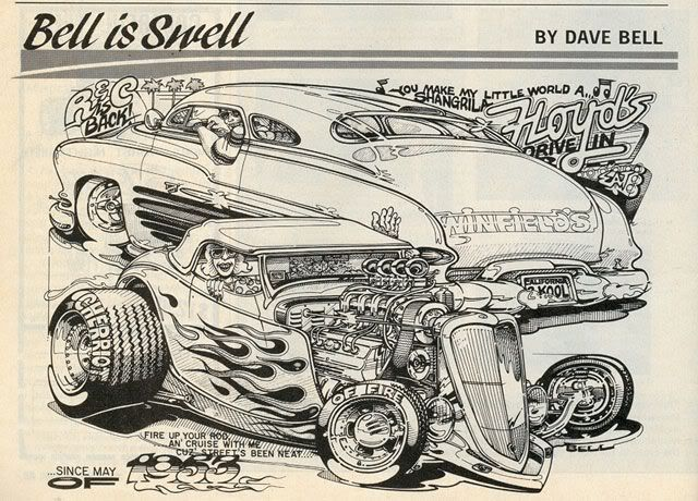 Dave Bell Automotive Art - Bing images