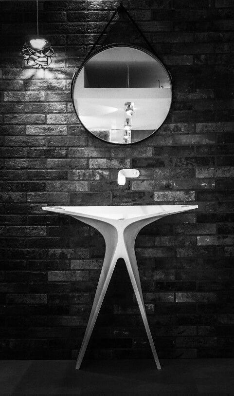 MyBath Silence standing washbasin  www.mybath.pl  www.facebook.com/mybathpl  #corian #mybath #interiordesign #bathroom #bathroomdesign #luxurybathroom #luxury #interior #texture #home #creativity #essentials #luxurydesign #luxurydesigner #designresearch #renowation #residence #interiorinspiration  #inspirations #interiorstyling #designporn #modernhouse #modernhome #homestaging