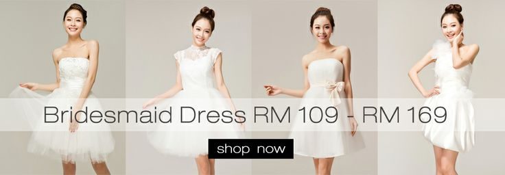A lots of option for bridesmaid dress, sweet and nice~