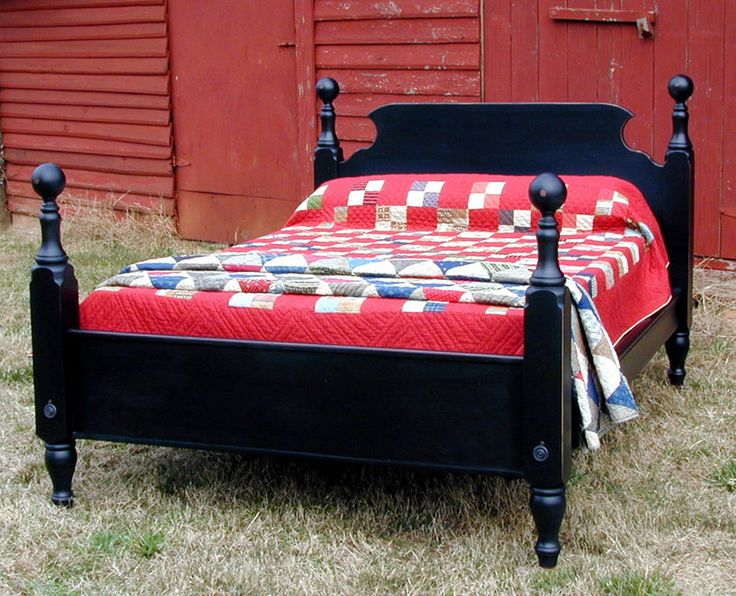 French Pine TAVERN BED, Queen Size, Hand Made Reproduction In USA | Queen  Size, Hand Made And Pine