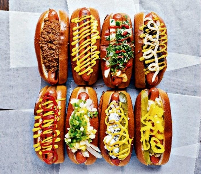 "A recent national survey revealed hot dog eaters are evenly split on hot dog toppings: 51% stick to traditional (ketchup and mustard) & 49% enjoy a variety of non-traditional toppings. However, 92% want to eat ""cleaner wieners."" The quality of meat used is tantamount -"