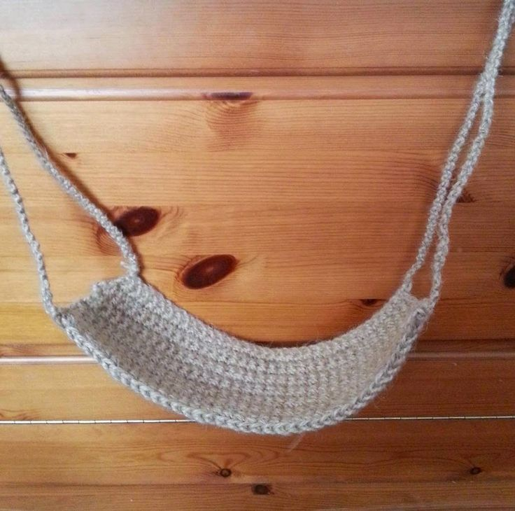 Hamster DIY - Suspended Crochet Bridge | hamster ...