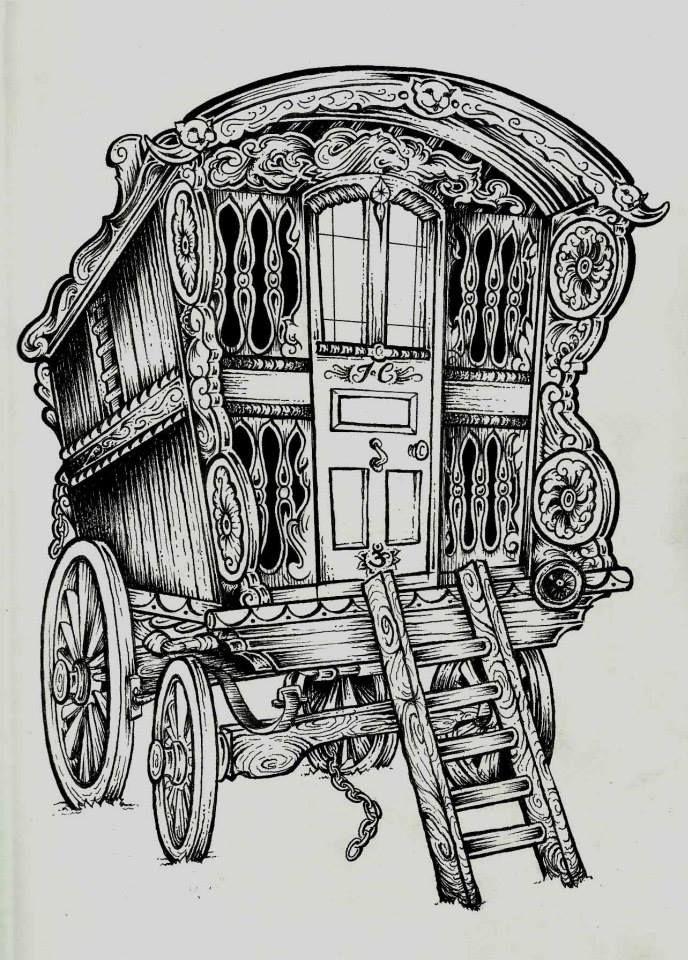Traditional wagon.