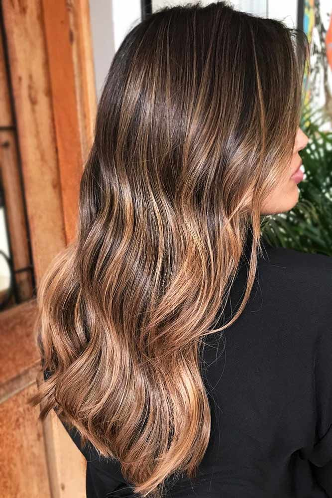 45 Suggestions For Dark Brown Hair Color Lovehairstyles Brown Hair Colors Brown Blonde Hair Hair Color Light Brown