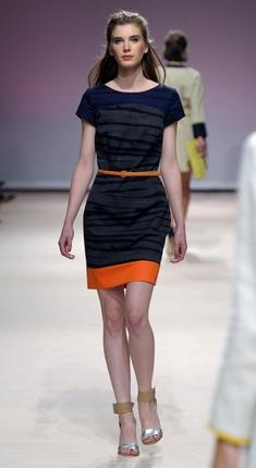 Natan  Spring Summer 2012 Collection  Can you say blocking? Would love to have this for football games though