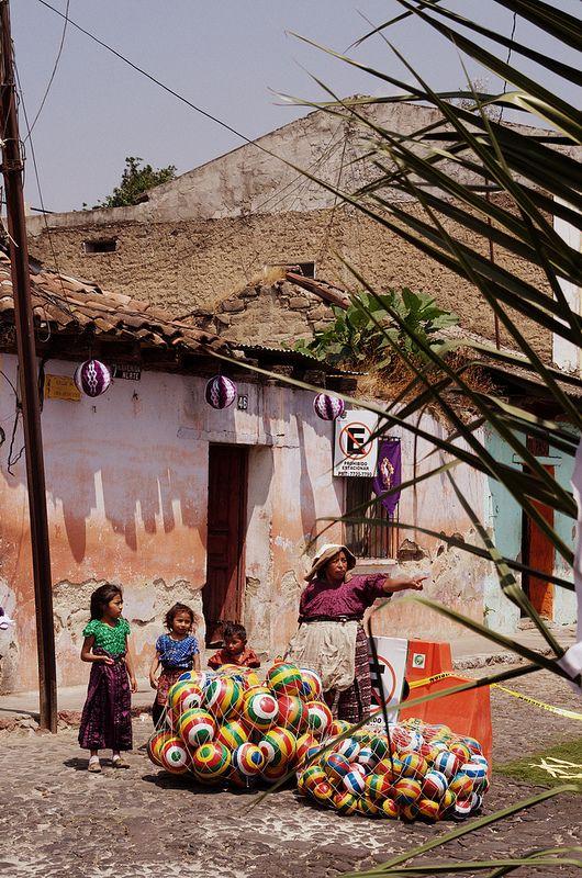 Fotos de los mercados guatemaltecos