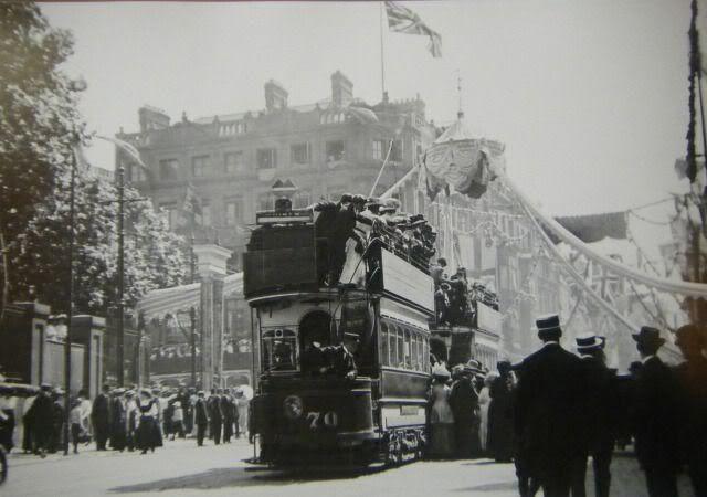 Lower Grafton Street, 1911.