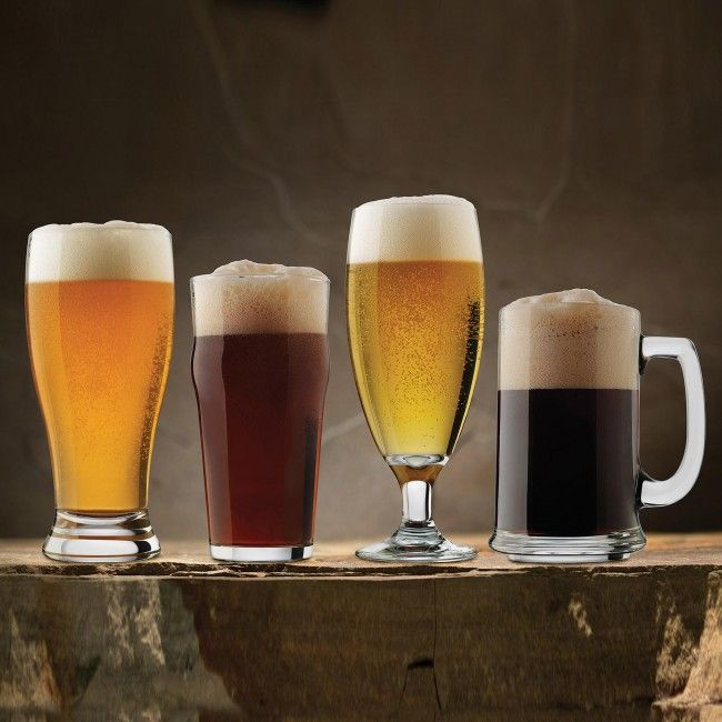 Enjoy every type of beer, stouts, IPAs, lagers and more, with the Libbey Craft Brew Beer Glasses. Perfect for parties! Make sure your guests get the appropriate glass for their beverage.