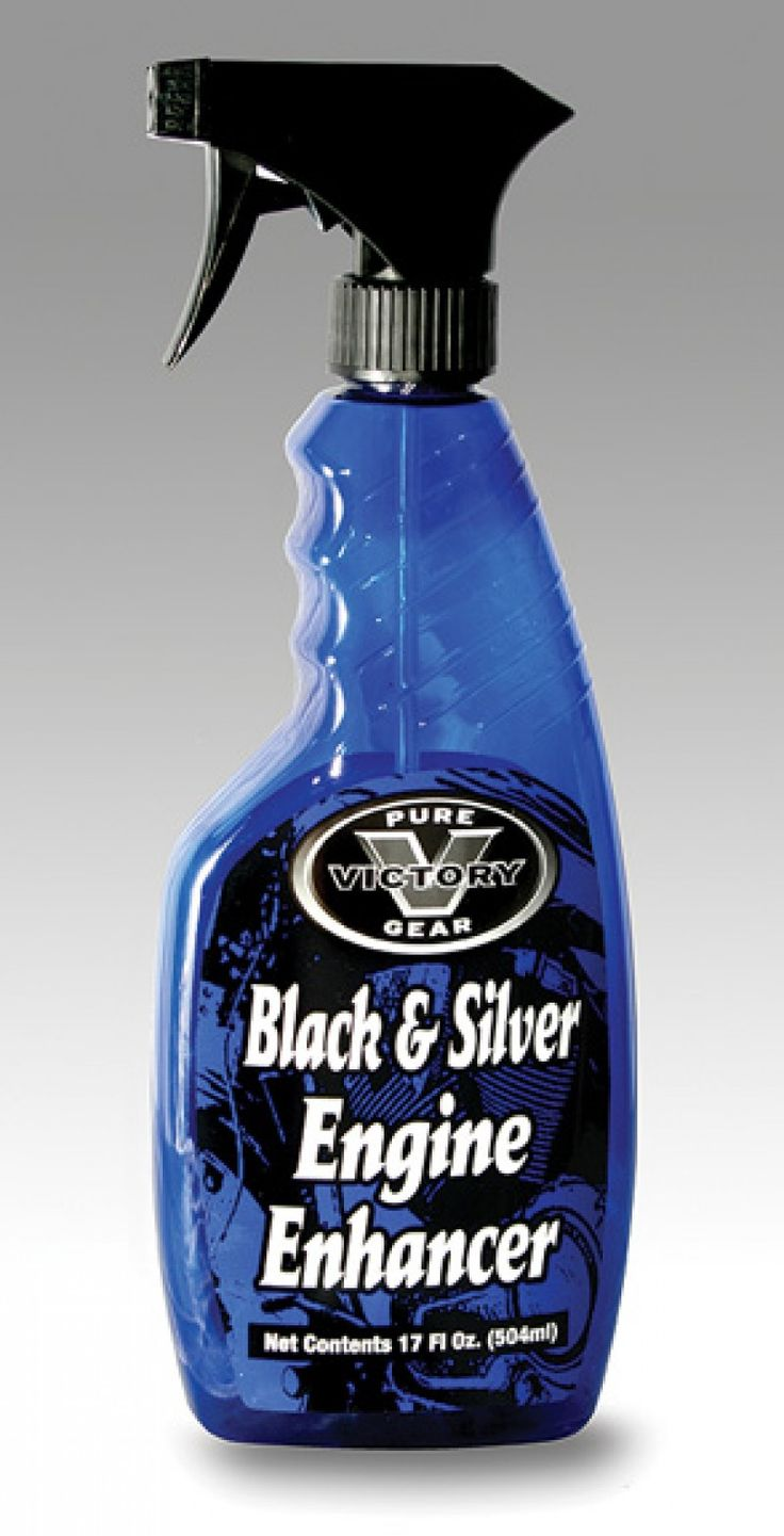 Black & Silver Engine Enhancer in Cleaning Supplies - Cross Country, Cross Roads & Hardball - Victory Motorcycles - Your #1 Source for US Made, Custom Victory Motorcycle Parts