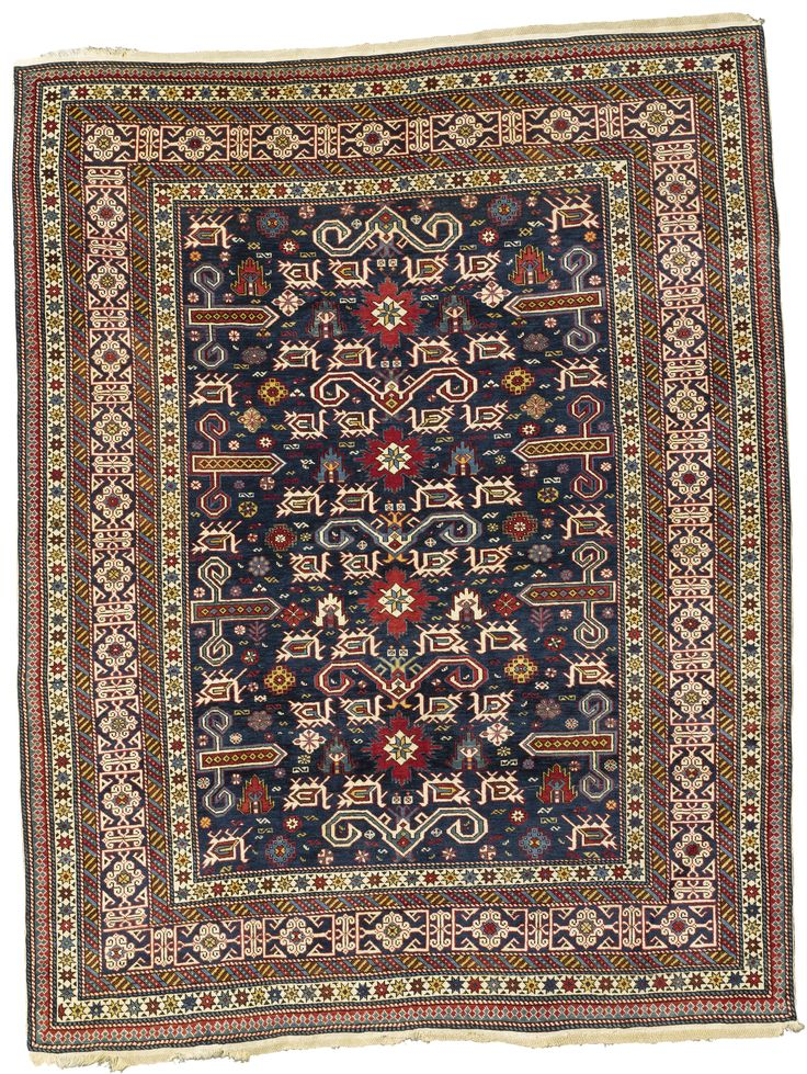 Perpedil rug, Northeast Caucasus  approximately 6ft. by 4ft. 3in. (1.83 by 1.29m.)  circa 1900 I Sotheby's