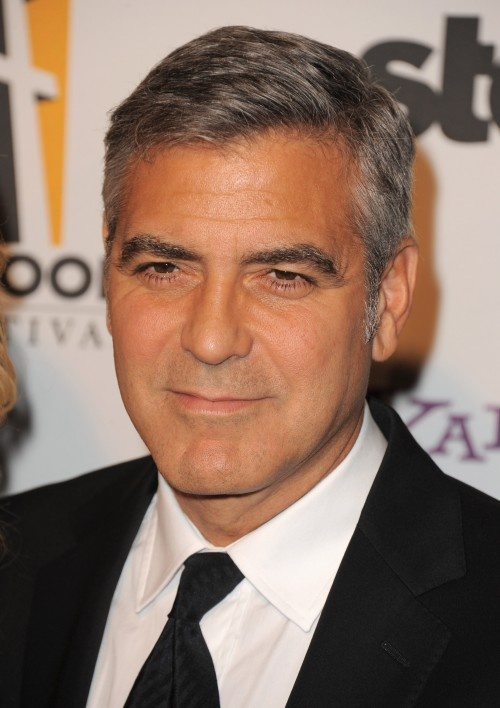 George Clooney Goofy Face