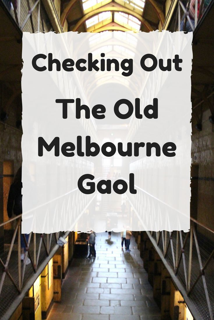 While in Melbourne we checked out the Old Melbourne Gaol and absolutely loved it. Find out why here