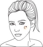 Forma certa de aplicar Blush Hoje vou dar dicas de maquiagem para aplicar blush de forma correta e qual a cor ideal para cada tipo de pele!No rosto oval o blush deve ser aplicado em movimentos circulares e depois deverá ser esfumado levando um pouco para as têmporas.