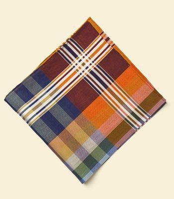 Paul Stuart - Cotton Paid Pocket Square ($50-100) - Svpply