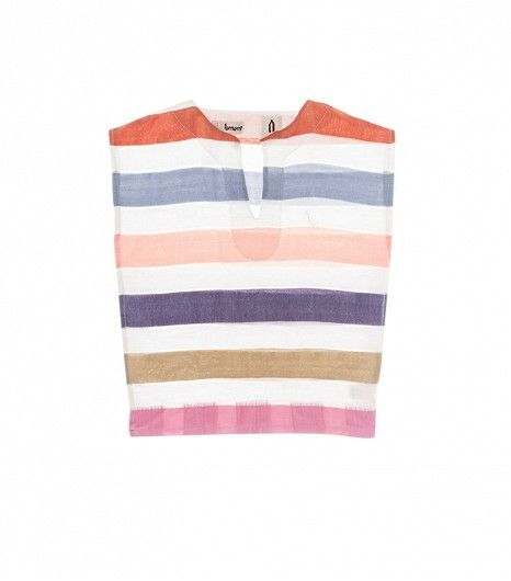 LemLem Gola Tee // This woven, fair-trade top is so fresh.