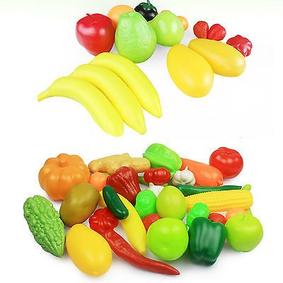 High Modish Kitchen Food Play Toy Cutting Fruit Vegetable For Children Kids Gift