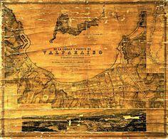 raymond-the-third: Map of Valparaíso Chile 1886