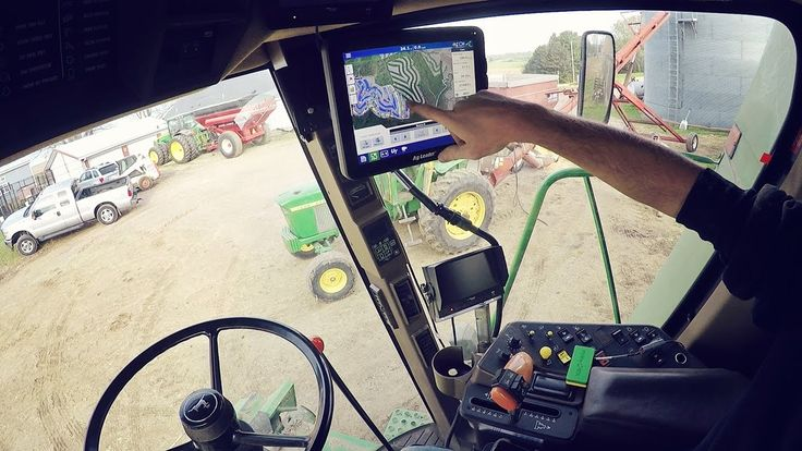 The Combine gets RTK - WS Ag Center on this episode of How Farms Work #FarmLife #AgProud