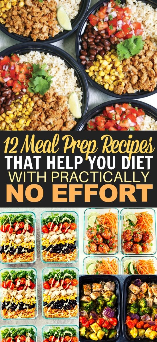 12 Meal Prep Recipes for Beginners