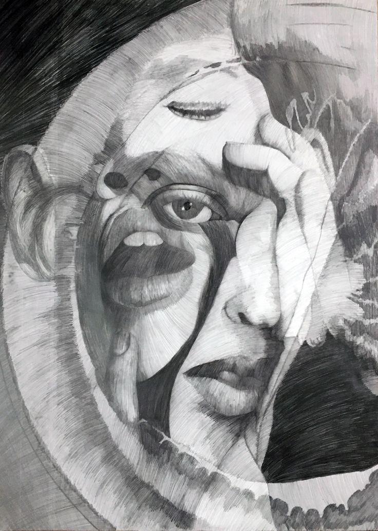 """Popatrz na mój projekt w @Behance: """"FACES DRAWING"""" https://www.behance.net/gallery/53653589/FACES-DRAWING"""