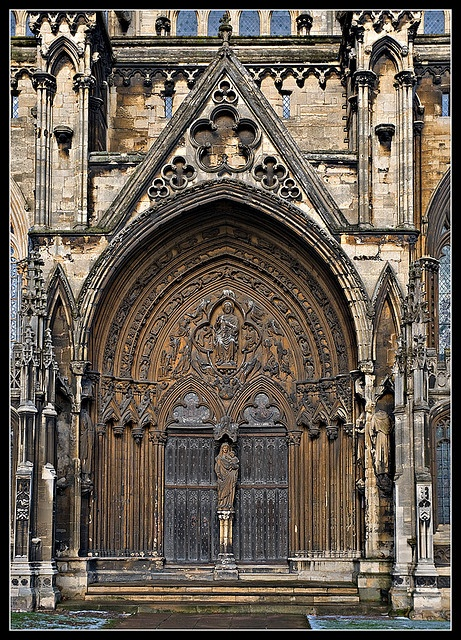 Lincoln Cathedral Door by Mister Oy via Flickr & 113 best Cathedral Doors ~ so beautiful! images on Pinterest ...