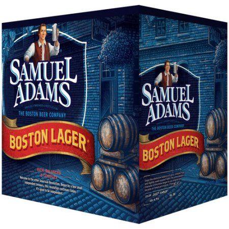 Samuel Adams Boston Lager Beer, 12 oz, 12 count - Walmart.com