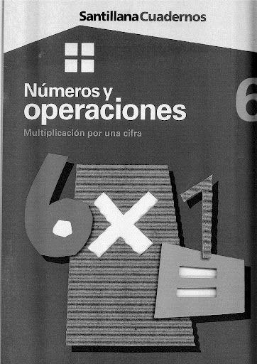 Números y operaciones 6 - Multiplicación por una cifra