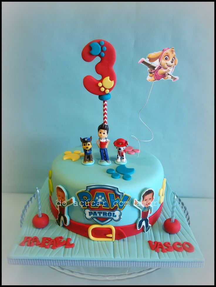 it's all about sweetness...Paw Patrol Cake
