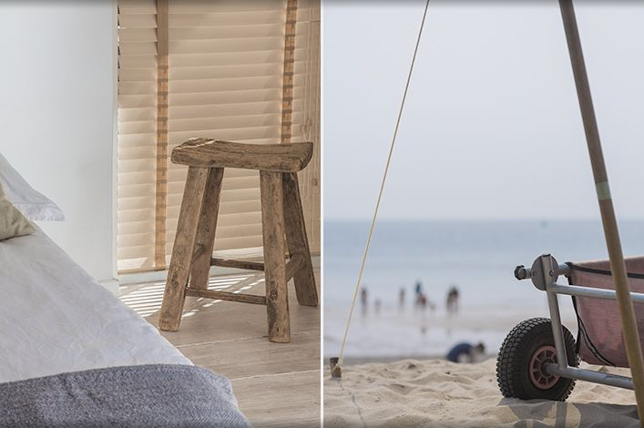 Beach house. Interior design Babs Appels