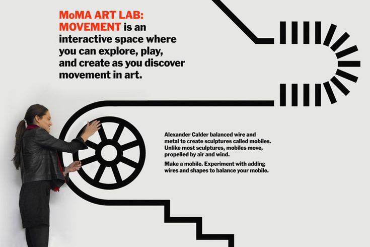 MoMA Art Lab: Movement - The Department of Advertising and Graphic Design