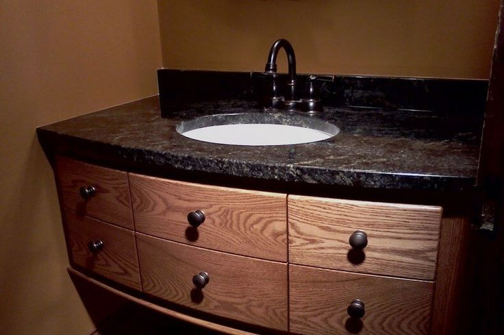 25 best bathroom vanity images on pinterest bath for How much to install a bathroom vanity and sink