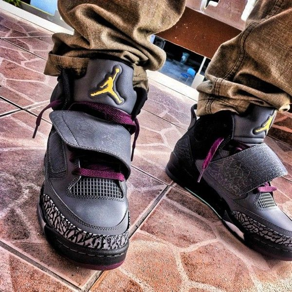 4f1acc316f55c7 Air Jordan Son Of Mars Bordeaux